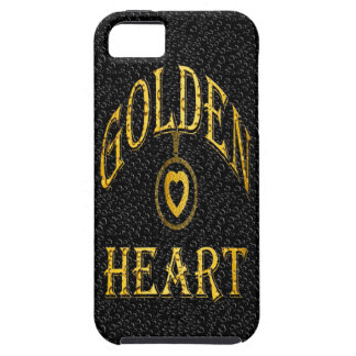 iPhone 5/5S, Vibe-GOLDEN HEART iPhone SE/5/5s Case