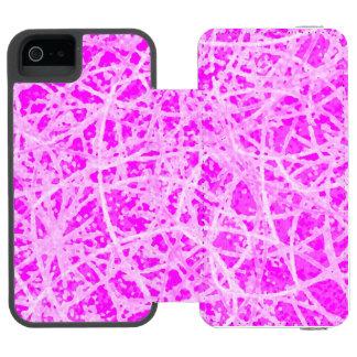 iPhone 5/5s Wallet Case Informel Art Abstract