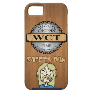 IPhone 5/5S Wood Choppin' Time Case - Safety Dan