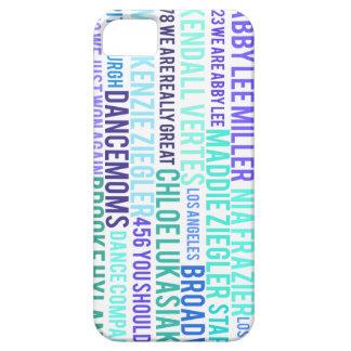 iPhone 5/5S WordArt Case LIGHT MARINE