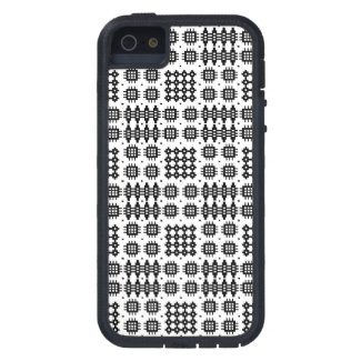 iPhone 5/5s Xtreme Case Black White Welsh Tapestry iPhone 5 Cases