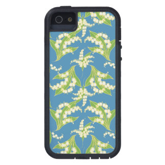 iPhone 5/5s Xtreme Case Lilies of the Valley, Blue iPhone 5 Case