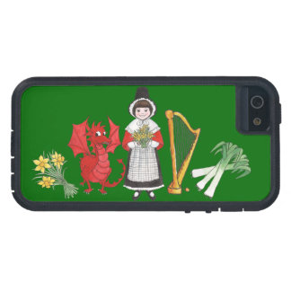 iPhone 5/5s Xtreme Case, Welsh Emblems Case For iPhone SE/5/5s