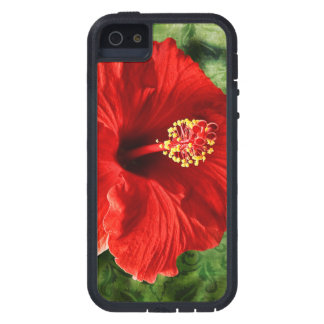 iPhone 5/5S, Xtreme duro del hibisco iPhone 5 Carcasas