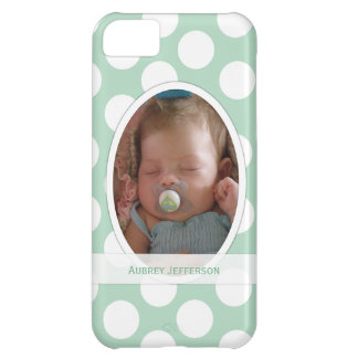 iPhone 5: Add Your Picture: Polka-dot Case