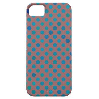 iPhone 5 Aqua Blue Polka Dots iPhone 5 Covers