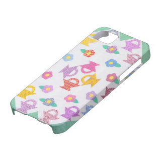 iPhone 5 Barely There Case - Baskets and Posies