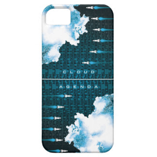 iPhone 5 Barely There Case-Cloud Agenda Rocket2 iPhone SE/5/5s Case