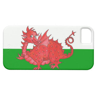 iPhone 5 Barely There Case, Cute Welsh Dragon iPhone 5 Cover