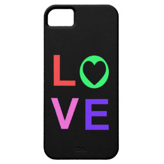 iPhone 5 Barely There Case Love Heart