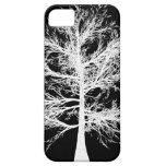 iPhone 5 Barely There Case White on Black iPhone 5 Cases