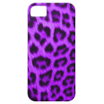 iPhone 5 Barely There Case Wild Violet Leopard iPhone 5 Cover