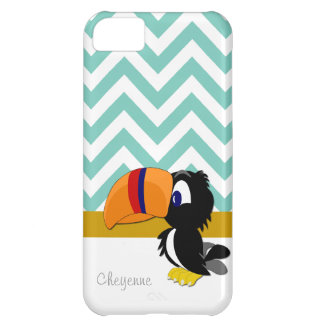 iPhone 5 Barely There de Toucan Seamist Chevron