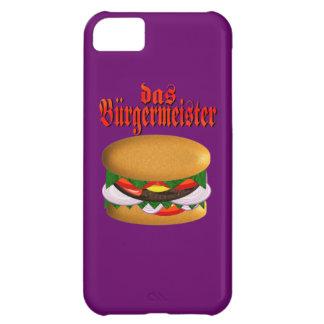 iphone 5 Barely There del das Burgermeister Funda Para iPhone 5C