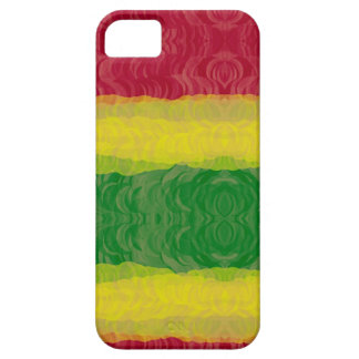 iPhone 5 Barely There ID Case, Rasta Abstract iPhone SE/5/5s Case
