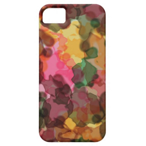 iPhone 5 Barely There ID Case, Spring Flowers iPhone 5 Cover