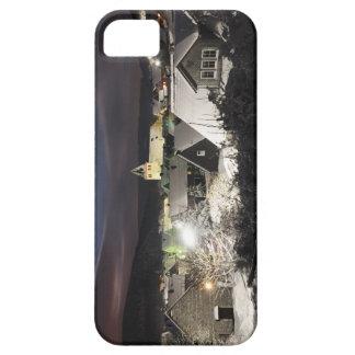 iPhone 5 barley móvil there pueblo en el invierno Funda Para iPhone SE/5/5s