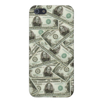 Iphone 5 billetes de dólar de los diez milésimos iPhone 5 carcasa