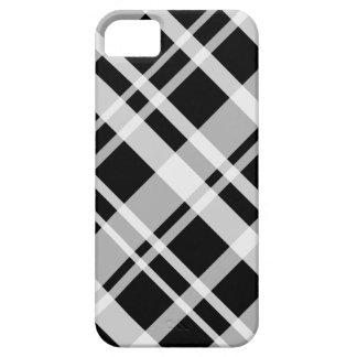 iPhone 5 Black Plaid Case-Mate Case