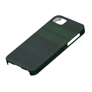 iPhone 5 Black Watch Modern Tartan Print Case