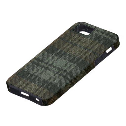 iPhone 5 Black Watch Weathered Print Case
