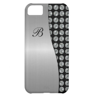 iPhone 5 Bling Monogram Case