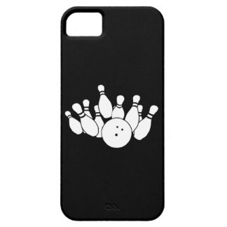 iPhone 5 Bowling Silhouette Black iPhone SE/5/5s Case