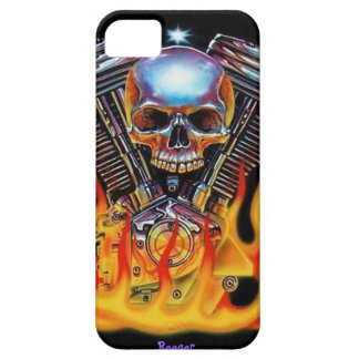 Iphone 5 bt - American Muscle Skull iPhone 5 Cover