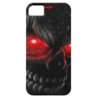 Iphone 5 BT - el cráneo de la carne con brillar iPhone 5 Carcasas