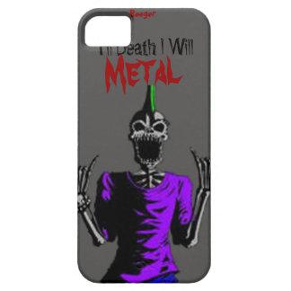Iphone 5 BT - hasta muerte Metal iPhone 5 Funda