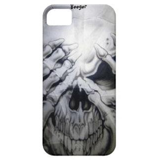 Iphone 5 bt - Peek-a-BOO Skull iPhone 5 Covers