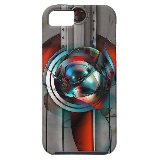 iPhone 5 C de la plantilla del ambiente QPC del ip iPhone 5 Carcasas