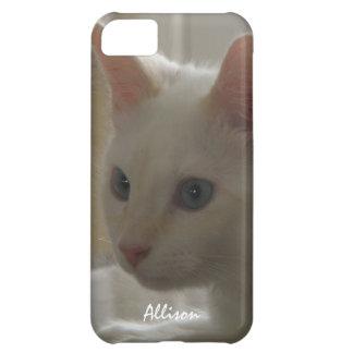 iPhone 5: Caja blanca personalizada del gatito