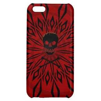 iPhone 5 Caja roja del cráneo de la rabia