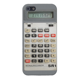 iPhone 5-Calculator DDR/GDR-SR1 iPhone 5 Cover