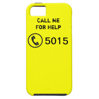 iPhone 5 - Call Me For Help - CALL 5015 iPhone 5 Carcasa