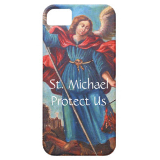 iPhone 5 Case Angel St. Michael Protect Us 6