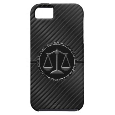 Lawyer Themed iPhone 5 Case Attorney Theme