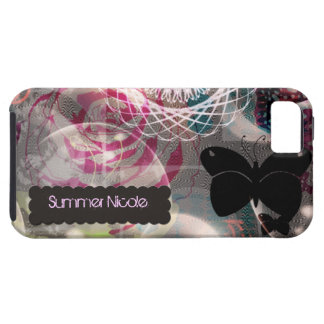 iPhone 5 Case bohemian butterfly ~ Case-Mate Tough
