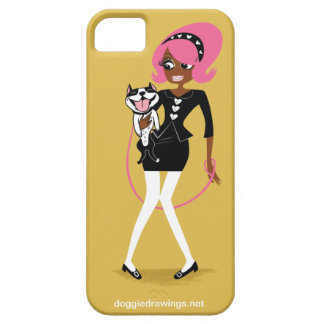 """iPhone 5 Case: Boogie Loves All-Mighty """"Big Hearts"""