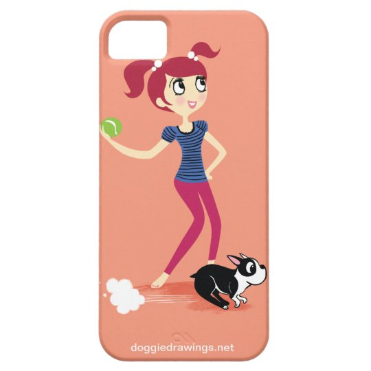"""iPhone 5 Case: Boogie Loves All-Mighty """"Skipper"""" iPhone SE/5/5s Case"""