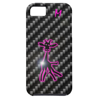 iPhone 5 case Carbon Giraffe change image / text