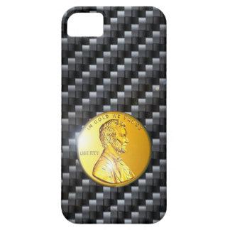 iPhone 5 case Carbon Gold change image /