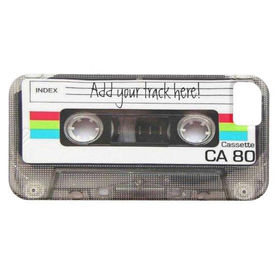 "iPhone 5 Case ""Cassette"""