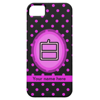 Iphone 5 Case-Chinese Surname Bai iPhone SE/5/5s Case