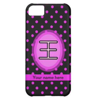 Iphone 5 Case-Chinese Surname Wang iPhone 5C Cover