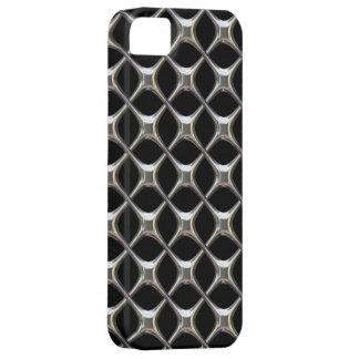iPhone 5 case Chrome Black 3D