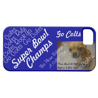 iPhone 5 Case Colts Fans