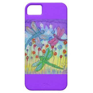 iPhone 5 Case - Delightful Dragonflies