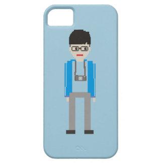 Iphone 5 Case Digital Camera Man Style